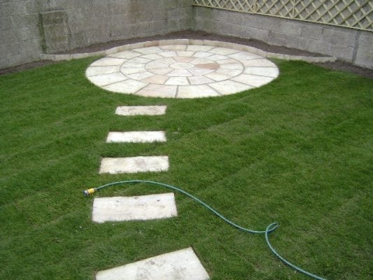 Mint Indian Sandstone Patio