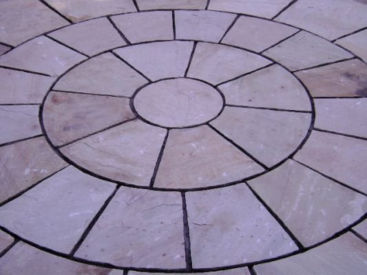 Mint Indian Sand Stone Patio