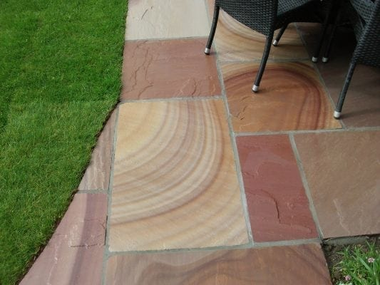 Camel Dust Indian Sandstone Patio