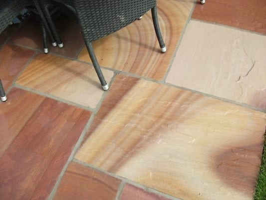 Dublin Camel Dust Indian Sandstone Patio Dublin Paving