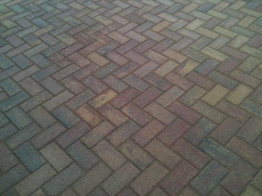 Rustic Slane Brick Driveway