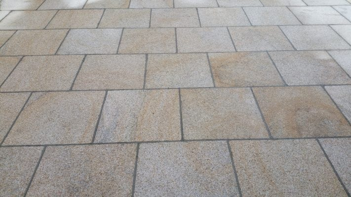 Brown Granite Patio