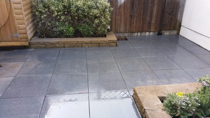 Black Granite Patio