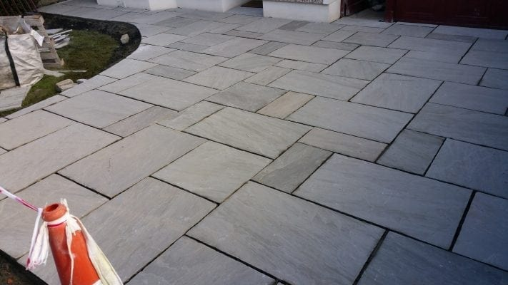 Grey Limestone Driveway