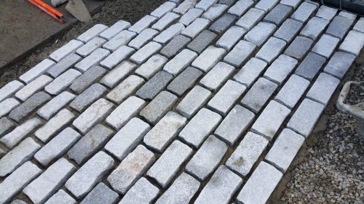 Silver Granite Cobble