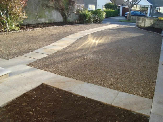 Gravel with Sand Stone